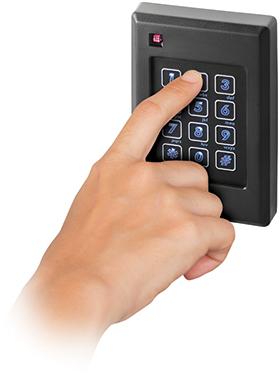 P-640 Reader and Keypad