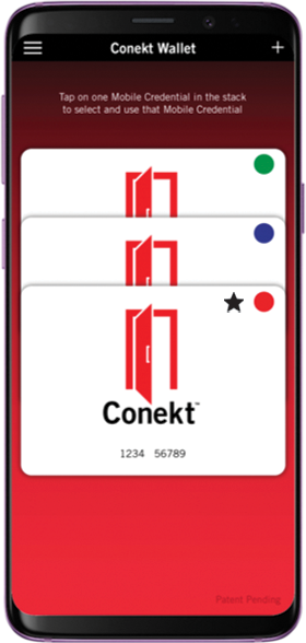 New and Improved Conekt Wallet App for Android devices