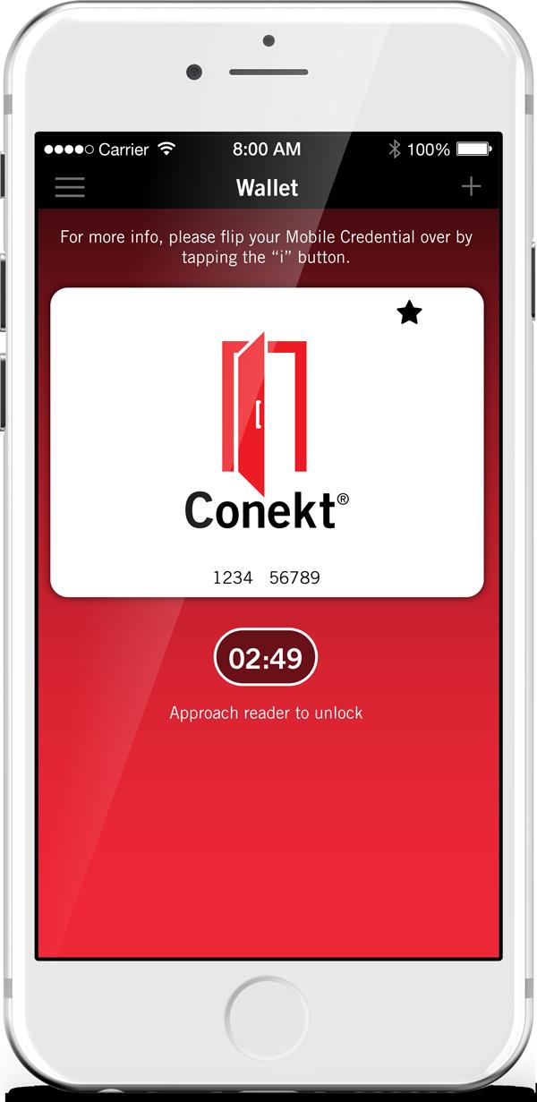 Conekt Wallet App Delivers Flexible Credential Read Timetables
